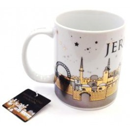 Jerusalem of Gold Mug