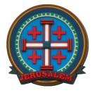 3D Magnet - Jerusalem Cross