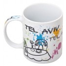 Tel Aviv Colorful 11oz Mug