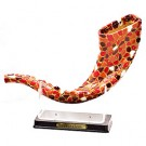 Shofar Mosaic  - Red