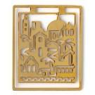 Golden Jerusalem Bookmark