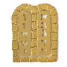 Ten Commandments Bookmark